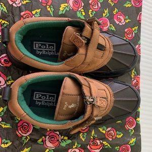 New Ralph Lauren kids snow  boots size 4.5